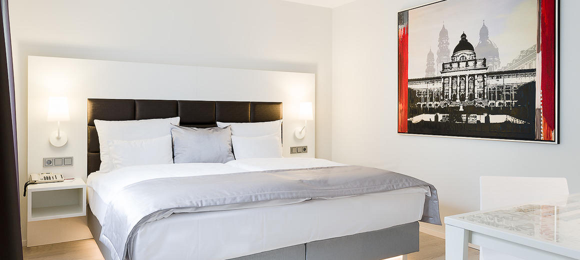 Inexpensive overnight stays in a central location, close to the main train station